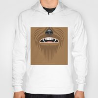 chewbacca Hoodies featuring Chewbacca - Starwars by Alex Patterson AKA frigopie76