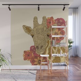 Girafe Wall Mural