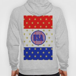 USA Stars And Stripes - United States Hoody