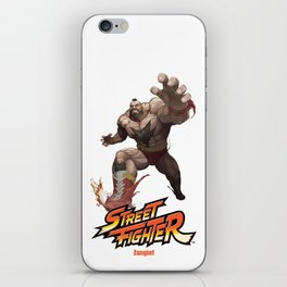 Street Fighter Zangief iPhone Skin