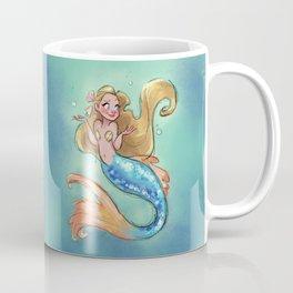 Shrugging Mermaid Coffee Mug