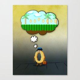 Summer Vacation Canvas Print