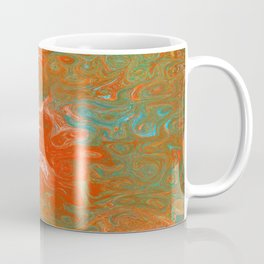 As Luck Would Have It, Abstract Art Coffee Mug