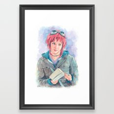 Ramona Flowers Framed Art Print