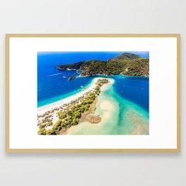 Oludeniz - Fethiye Framed Art Print
