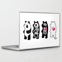 anatomy Laptop & iPad Skins featuring Panda Anatomy by Heiko Windisch