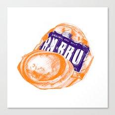 Irn-Bru can Canvas Print