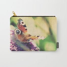 """""""I only ask to be free. The butterflies are free."""" ~ Charles Dickens  Carry-All Pouch"""
