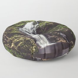 Wild Water - Landscape and Nature Photography Floor Pillow