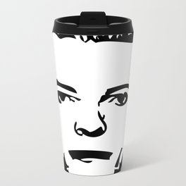 Thin White Duke Metal Travel Mug