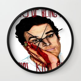 Dexter, The Perks of being a Serial Killer Wall Clock
