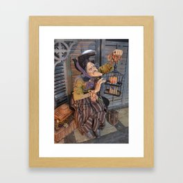 Rucus Studio Maddie the Eccentric Witch Framed Art Print