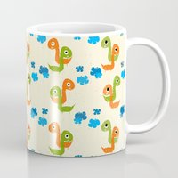 dino Mugs featuring Dino by Elettra