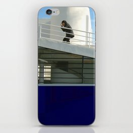 savoye glitch iPhone Skin