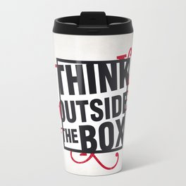 Think outside the BOX!  Travel Mug