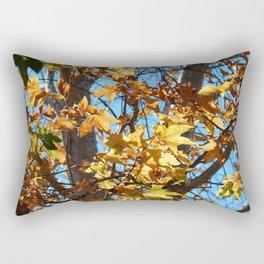 Fall Time Tree Rectangular Pillow