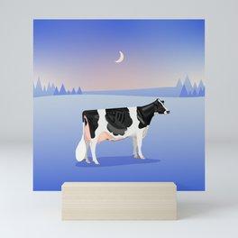 Holstein // Winter Mini Art Print