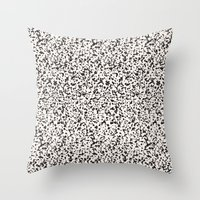 stone Throw Pillows featuring Stone by Demi Goutte
