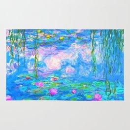 Monet Water Lilies - Pastel Fluro Rug