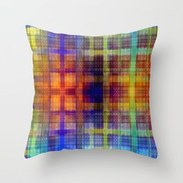 Pattern multicolored 27 Throw Pillow