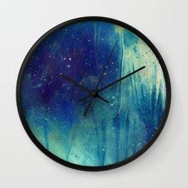 Veil of Infinity Wall Clock