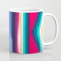 surf Mugs featuring SURF by Nika