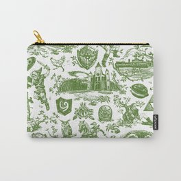 """Zelda """"Hero of Time"""" Toile Pattern - Kokiri's Emerald Carry-All Pouch"""