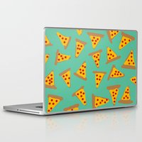 pizza Laptop & iPad Skins featuring pizza by AshlynDrake