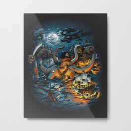Out Arrr...med Metal Print