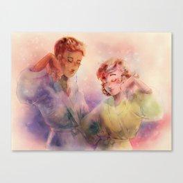 Spa Day Canvas Print