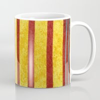 50s Mugs featuring 50s block colour 1 by Pagan Sovereign Studios