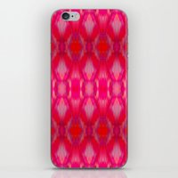 ikat iPhone & iPod Skins featuring Ikat by Amy Sia