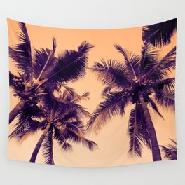 Palm Trees Vintage Wall Tapestry