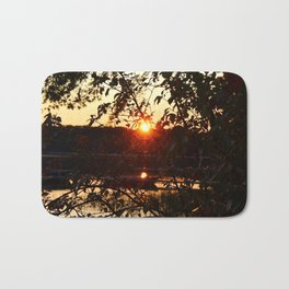Sunset Settling Bath Mat