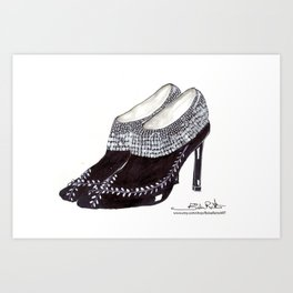 Manolos so French  Art Print
