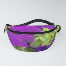 Petunias, Flowers, Purple Flowers Fanny Pack