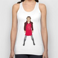 murray Tank Tops featuring Grill Murray  by Chelsea Herrick