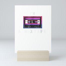 My Mixtapes Bisexual Pride - I'm a Mixtape Bisexual Tshirt Mini Art Print