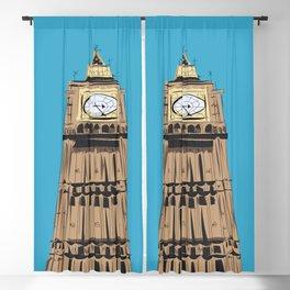 London Big Ben Blackout Curtain