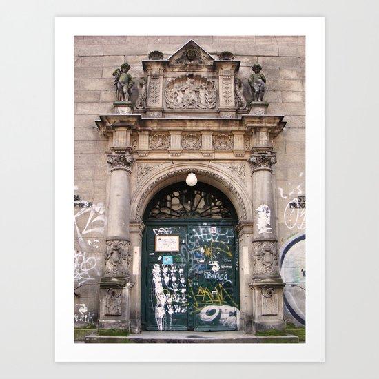 Stadtbad Prenzlauerberg Art Print