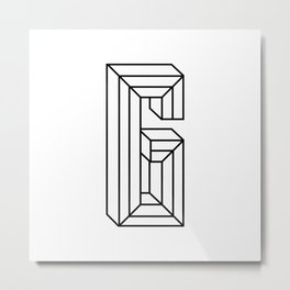 Letter G Metal Print