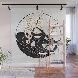Medusa's Snakes Inktober :: Darlings, Don't Fear Me Wall Mural