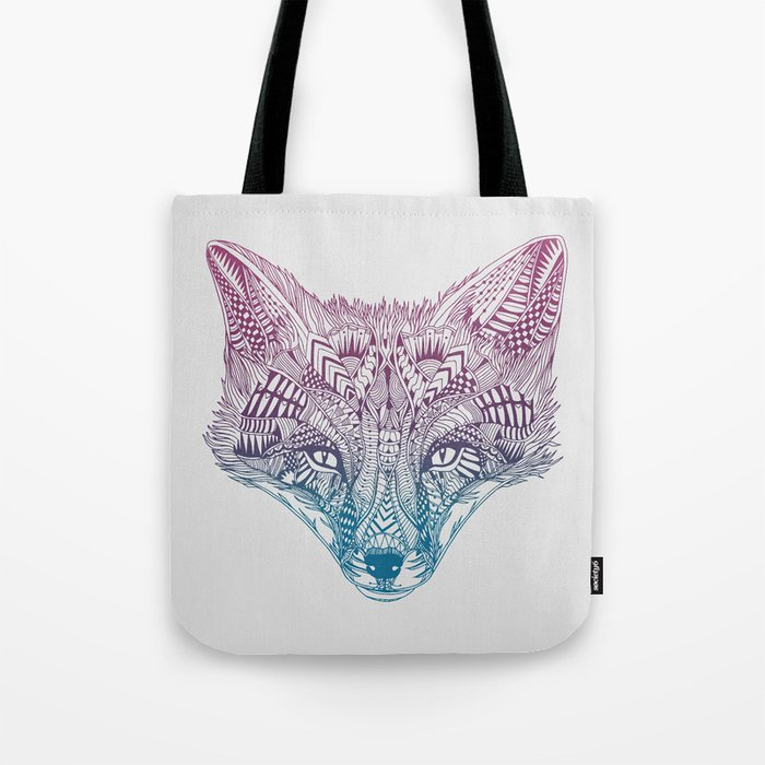 Fox (Clever) Tote Bag