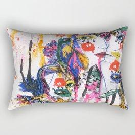 I spy my little eye, something begining with...  Rectangular Pillow