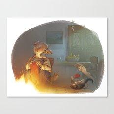 Frau Holda Canvas Print