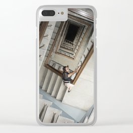 Into the Abyss Clear iPhone Case