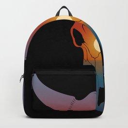 Sunset Bull Backpack