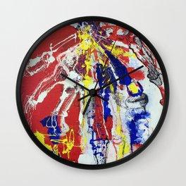 Lefty  Wall Clock
