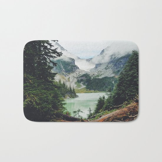 Landscape photography I Bath Mat