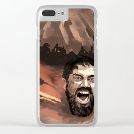 The 300 Clear iPhone Case